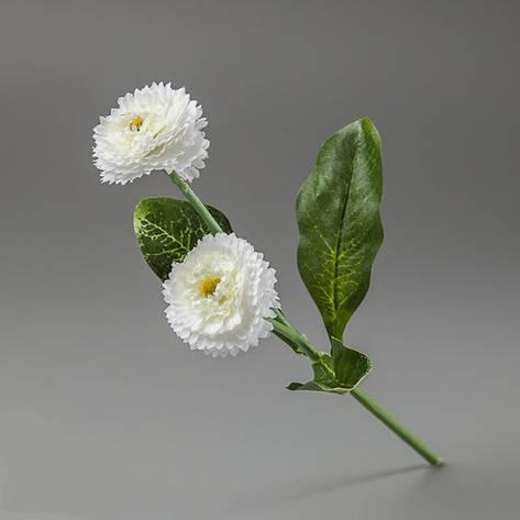 Искусственные цветы маргаритки белые., фото 2