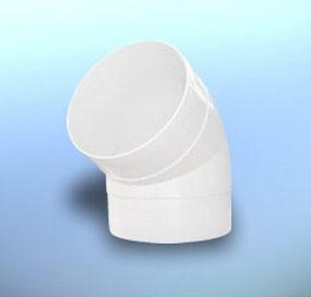 Колено круглое Dospel D KО 100*67