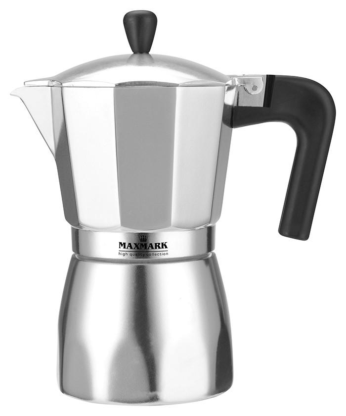 Кофеварка гейзерная Maxmark 150мл  MK-AL103