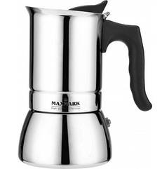 Кофеварка гейзерная 240 мл Maxmark MK-S104