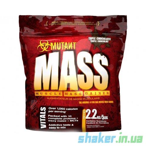 Гейнер для набора массы Mutant Mass (2,27 кг) мутант масс strawberry banana cream