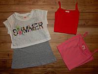Детские футболки для девочек Summer 98/128 р