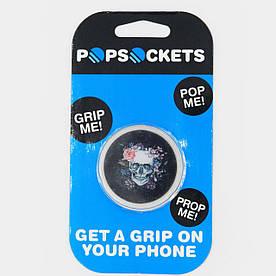 Держатель для смартфона PopSocket C818 Череп
