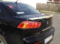 Спойлер сабля тюнинг Mitsubishi Lancer X