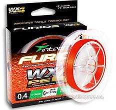 Шнур плетеный Intech FURIOS PE WX4 120m #0.6 (10lb / 4.54kg)