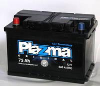 Аккумулятор автомобильный Plazma 6СТ-75 Аз Original