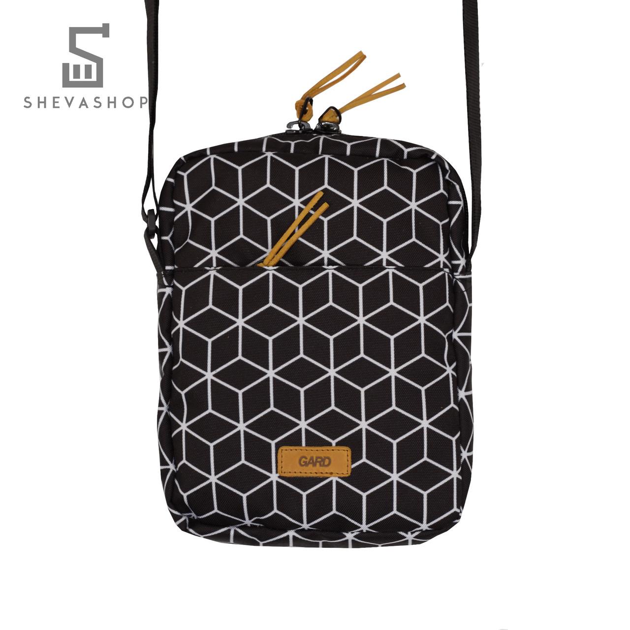 Сумка-мессенджер на плечо Gard geometrik print 2/18 черный