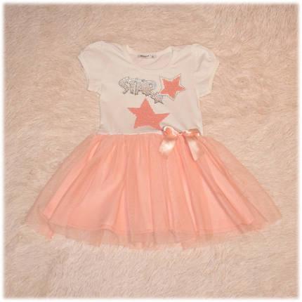 Платье-пачка пудра размер 104 116 122 128 , фото 2