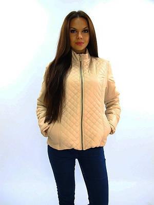 Модная бежевая куртка