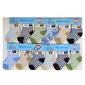 Носки детские для мальчиков Малыш 0-12 месяцев Оптом CA2011