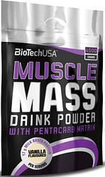 Гейнер BioTech USA Muscle Mass 4000g