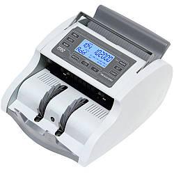 Функціональний лічильник банкнот з калькулятором номіналів PRO 40U LCD (1200 банкн/хв)