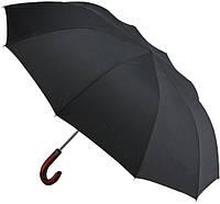 Чоловічий парасольку Zest 2 складання Ручка гак дерево (автомат/ напівавтомат,10 спиць) арт.42660