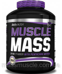 Вітамінний BioTech USA Muscle Mass 2270g