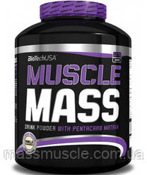 Гейнер BioTech USA Muscle Mass 2270g