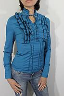 Рубашка женская 1141 бирюза XXXL