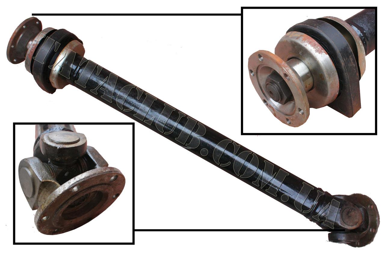 Вал карданный передний в сборе с подвесным подшипником и длинной базой 1640 мм VEER