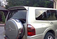 Спойлер козырек тюнинг Mitsubishi Pajero Wagon 3