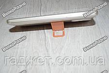 Универсальная мини складная пластиковая подставка для мобильного телефона оранжевого цвета, фото 3