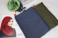 Хиджаб тройной нахлест цвет № 1
