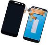 Дисплей (екран) для Motorola XT1620 Moto G4/XT1621/XT1622/XT1624/XT1625/XT1626 + тачскрін, чорний