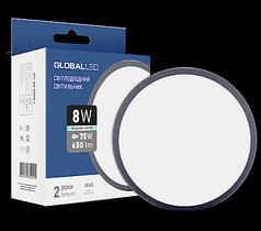 Светильник герметичный GLOBAL LED 8W 5000K светодиодный
