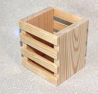 Стакан органайзер с филенками, 130*120*120 мм
