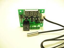 Терморегулятор универсальный W1209 бескорпусной 12В синий ( -50°C до. +110°C)