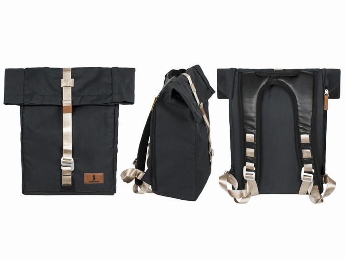 Рюкзак городской для ноутбука черный
