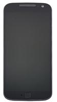 Дисплей (экран) для Motorola XT1620 Moto G4/XT1621XT1625 + тачскрин, черный, с передней панелью, оригинал