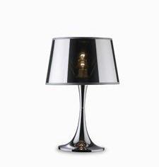 Настольная лампа London Cromo TL1 Small. Ideal Lux