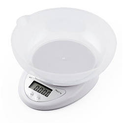 Весы B05, 5кг (1г), чаша (электронные весы)
