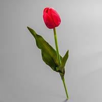 Искусственный цветок тюльпан.