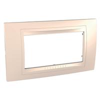 Рамка 4-мод. Крем Unica Schneider, MGU4.104.59