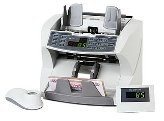 Професійний лічильник банкнот з виносним дисплеєм і 10-х лупою PRO 87 (1500 банкн/хв)