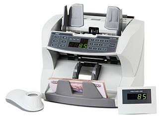Профессиональный счетчик банкнот с выносным дисплеем и 10-х лупой PRO 87 (1500 банкн/мин)