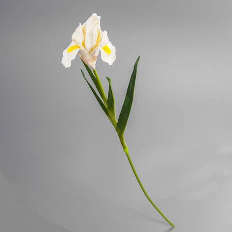 Искусственный цветок ирис белый., фото 2
