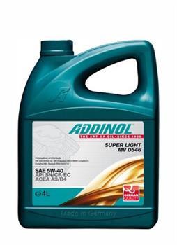 Синтетическое моторное масло Addinol Super power MV 0537 FD Sae 5w-30
