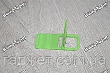Универсальная мини складная пластиковая подставка для мобильного телефона салатового цвета, фото 2
