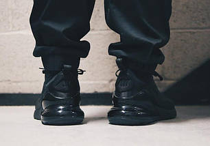 Мужские кроссовки Nike Air Max 270 Triple Black AH8050-005, фото 3