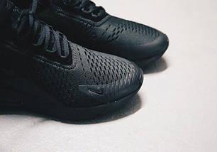 Мужские кроссовки Nike Air Max 270 Triple Black AH8050-005, фото 2