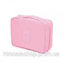Органайзер для белья и косметики Liguo travel pink