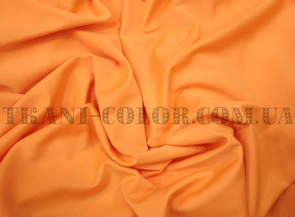Микромасло трикотаж помаранчевий неон, фото 2