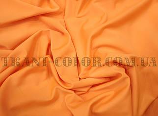 Микромасло трикотаж оранжевый неон