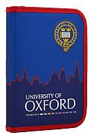 Пенал твердый одинарный с клапаном  Oxford, 20.5*14*3.5