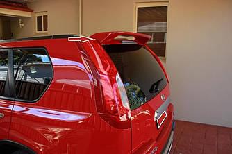 Спойлер на багажник Nissan X-trail T31 (стекловолокно)