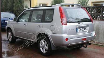 Спойлер козырек тюнинг Nissan X-trail (2001-2007)