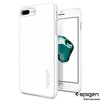 Чехол Spigen для iPhone 7Plus Thin Fit, Jet White, фото 1