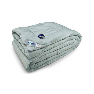 Шерстяное одеяло ШКЖ+У голубое 200х220 см (322.ШКЖ+У_Блакитний)