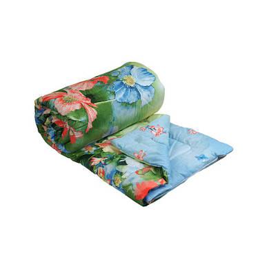 """Шерстяное одеяло """"Summer Flowers"""" облегченное 172х205 см (316.137ШК_Summer Flowers)"""